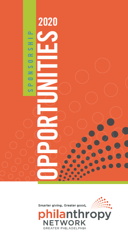Philanthropy Network 2020 Sponsorship Brochure