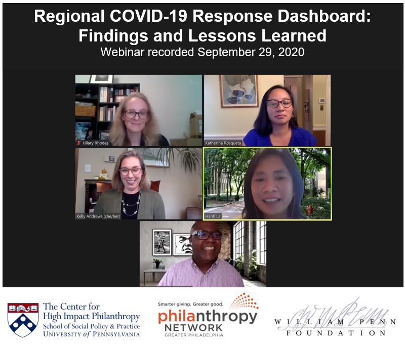 COVID dashboard webinar recording
