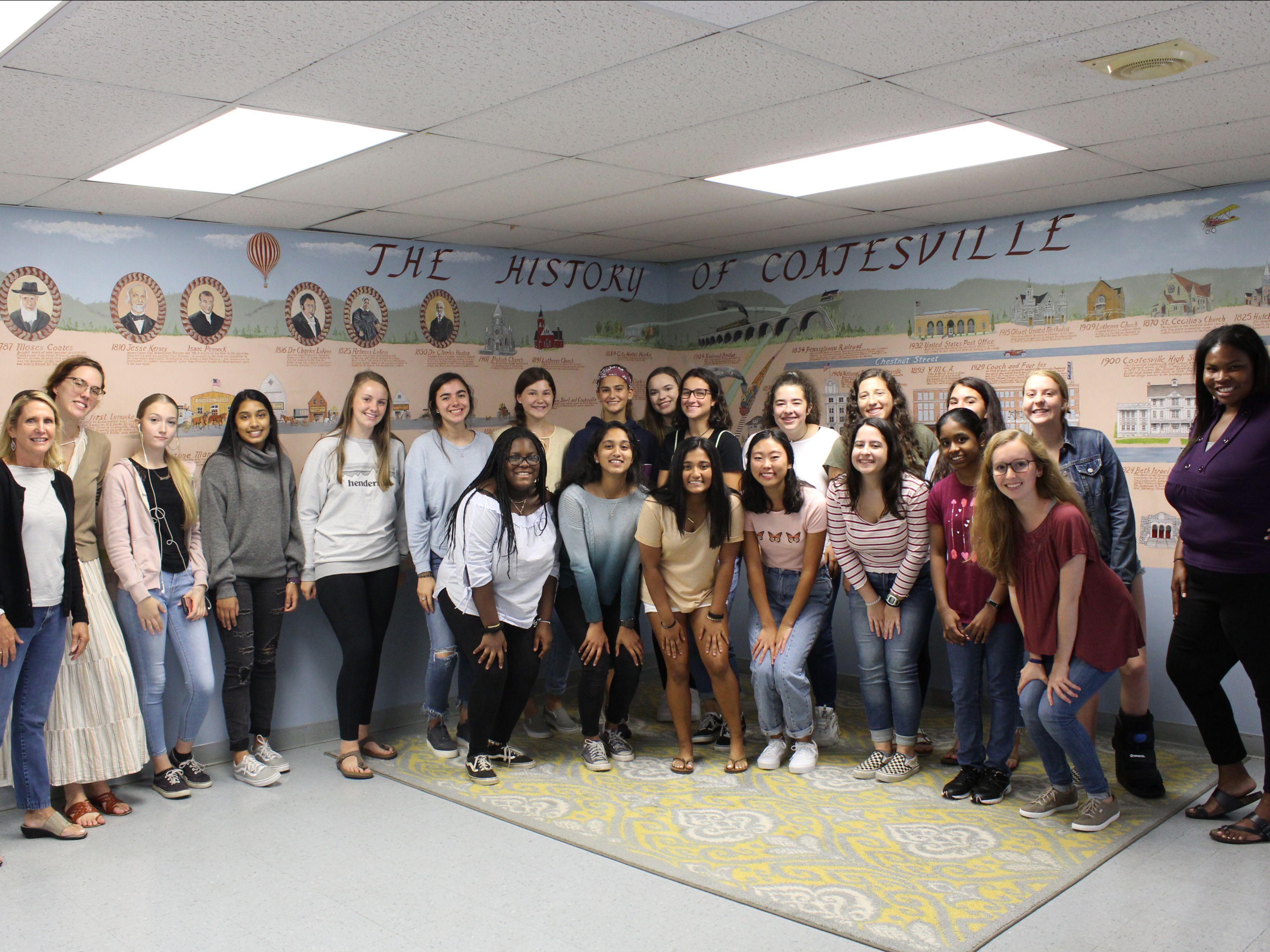 CCFWG Girls Advisory Board 2019-20
