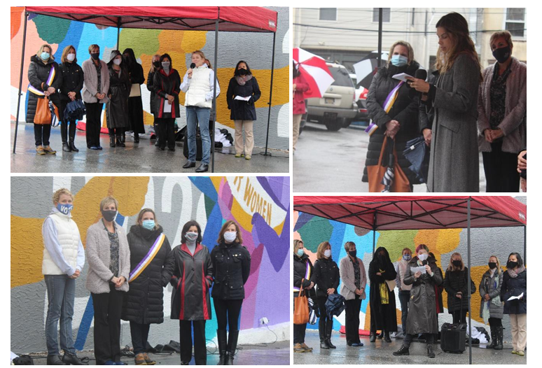 CCFWG Mural Unveiling