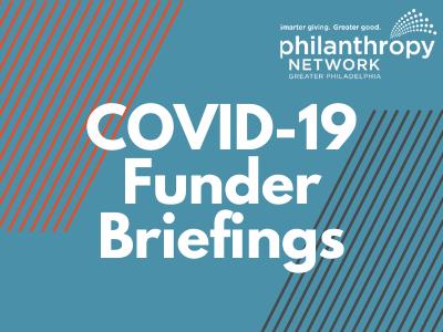 COVID-19 Funder Briefings 2021