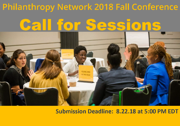 2018 Fall Conference Call for Sessions
