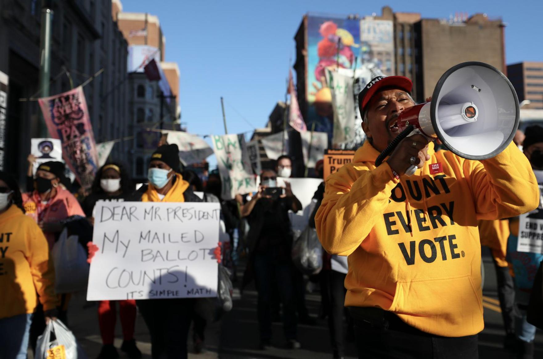 Count Every Vote CREDIT: Heather Khalifa/Philadelphia Inquirer