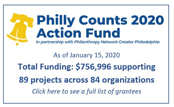 Philly Counts 2020 Action Fund Grants_Jan 2020