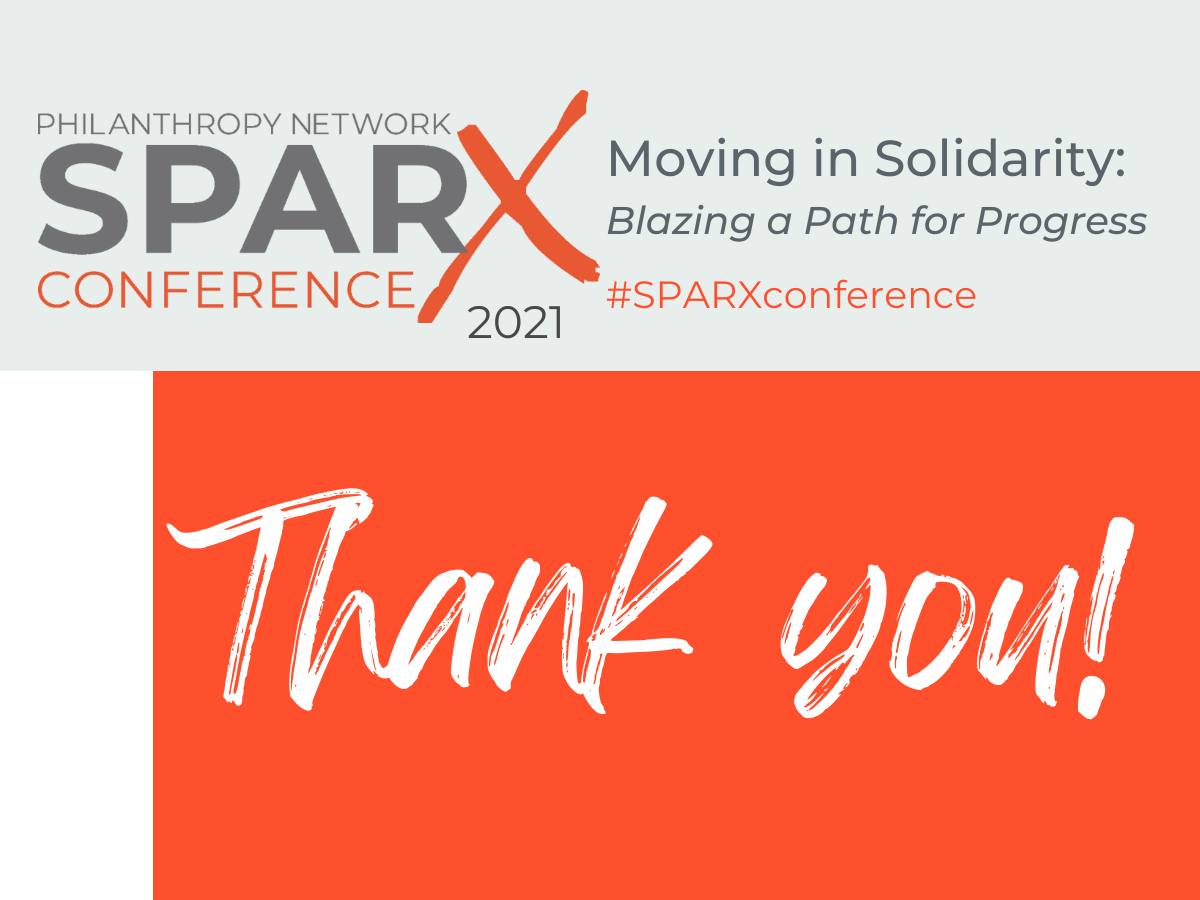 SPARX Conference 2021 Thank you