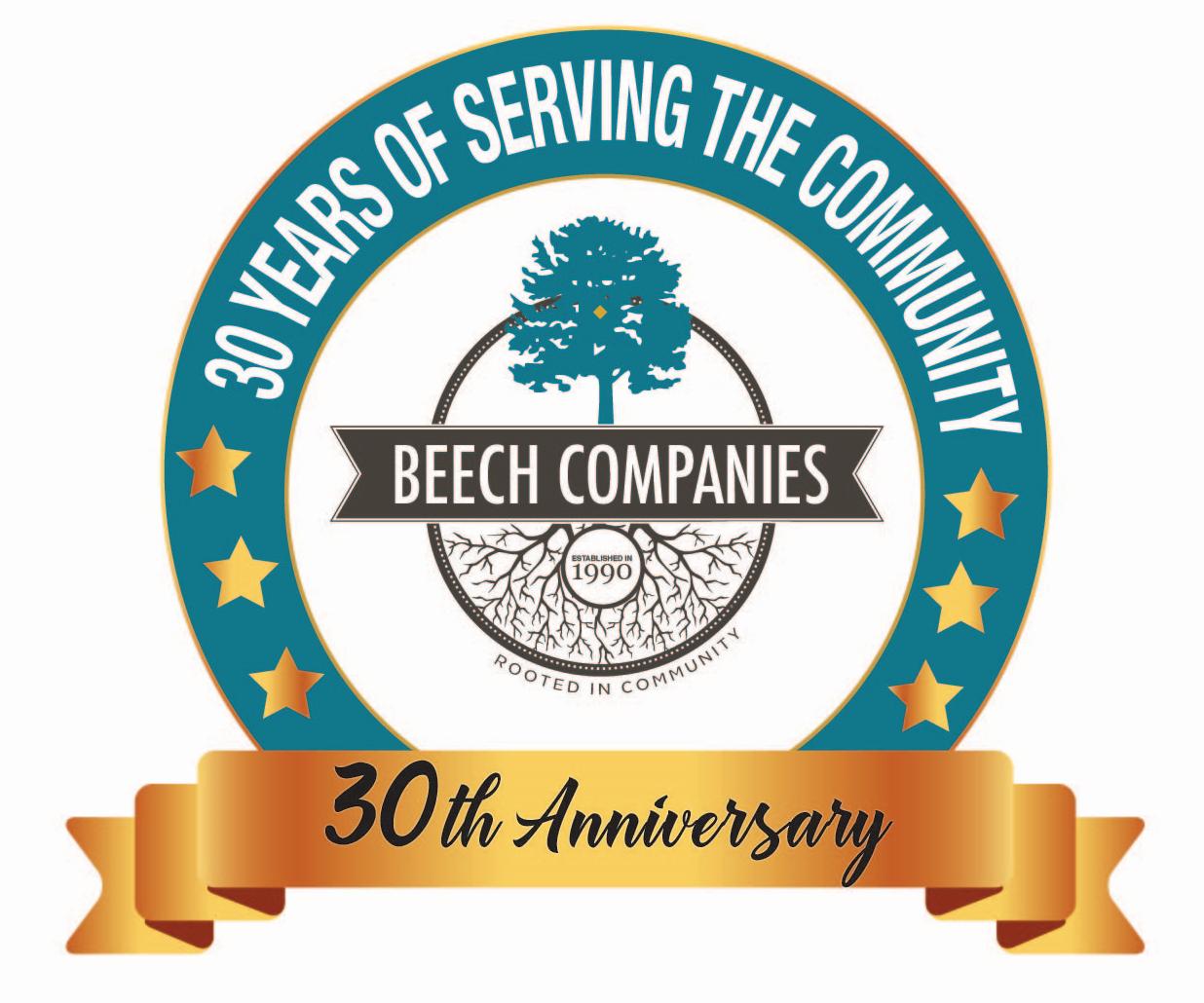 Beech Companies 30 Years