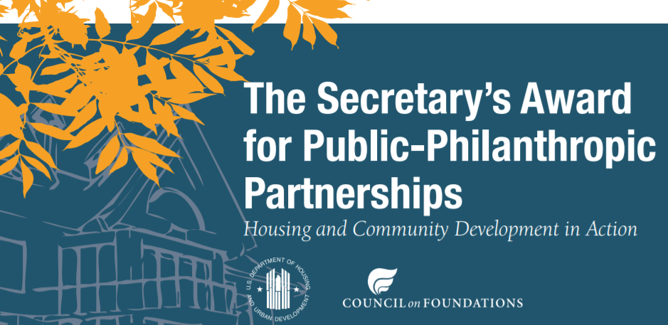 Secretary's Award for Public-Philanthropic Partnerships