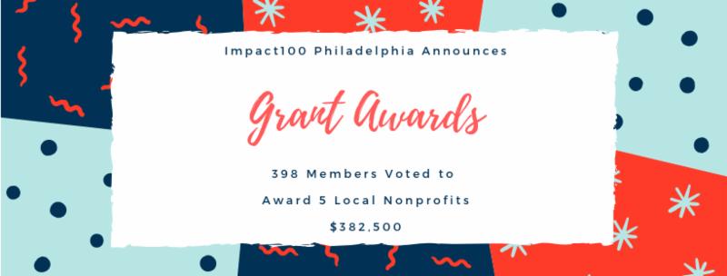 Impact100 Philadelphia 2019 Grant Awards