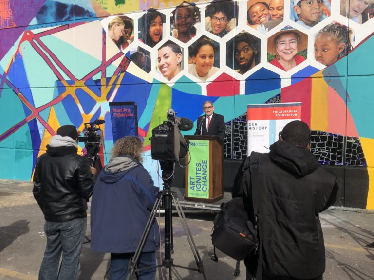 Philadelphia Foundation Centennial Mural Dedication